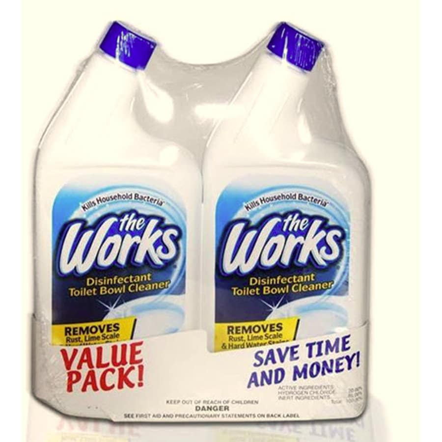 the works 32fl oz toilet bowl cleaner