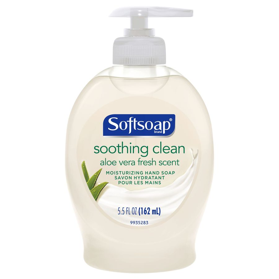 Softsoap 5.5-fl oz Aloe Hand Soap