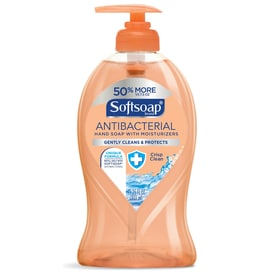 Softsoap 11.25-fl oz Antibacterial Crisp Clean Hand Soap