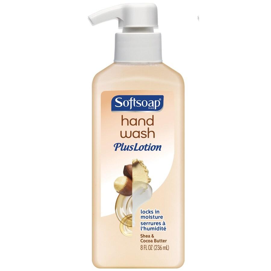 Softsoap 8-fl oz Shea and Cocoa Butter Hand Soap