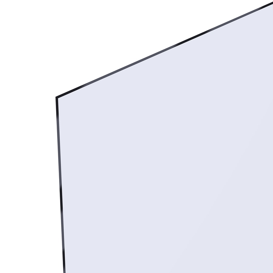 OPTIX 0.08-in x 30-in x 36-in Clear Acrylic Sheet