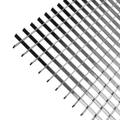 Plaskolite 47 3 4 X 23 Metallic Ceiling Light Panel At