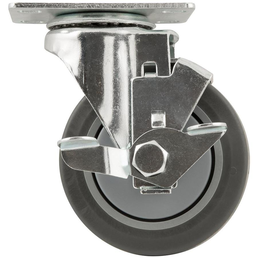 Waxman 4-in Rubber Swivel Caster