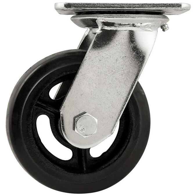 Titan 5 In Rubber Swivel Caster In The Casters Department At Lowes Com