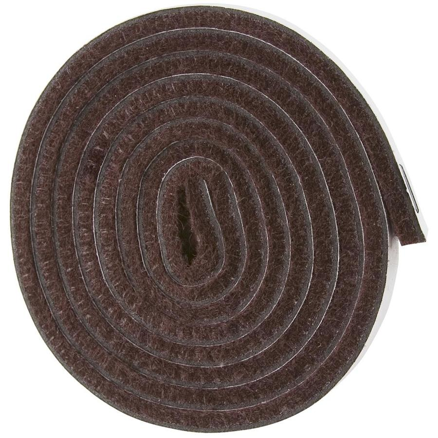 Waxman Brown Square Felt Pad