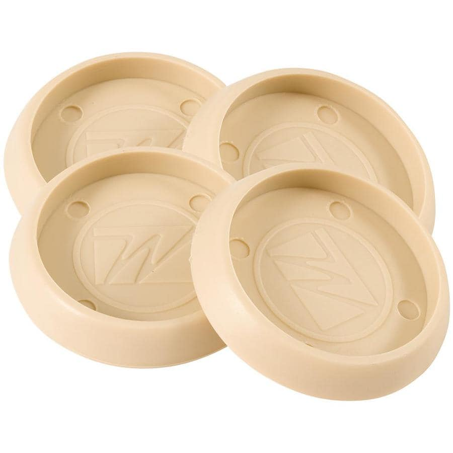 Waxman 1-3/4-in Almond Round Caster Cups