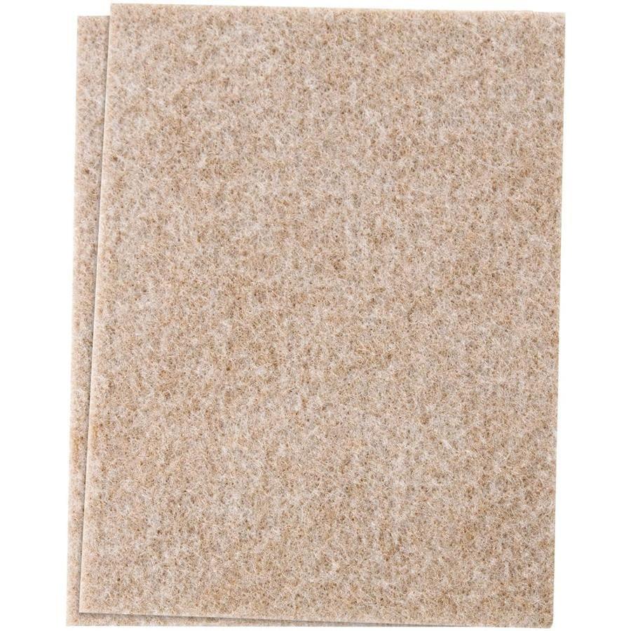 Waxman -Pack 4.5-in Square Felt Pad