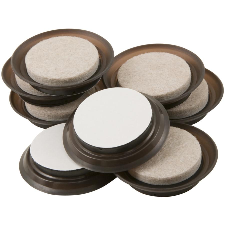 Waxman 8-Pack 1.5-in Round Felt Pads