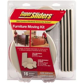 Super Sliders 16 Pack Orted Round And Rectangle Non Adhesive Backed Reusable Felt