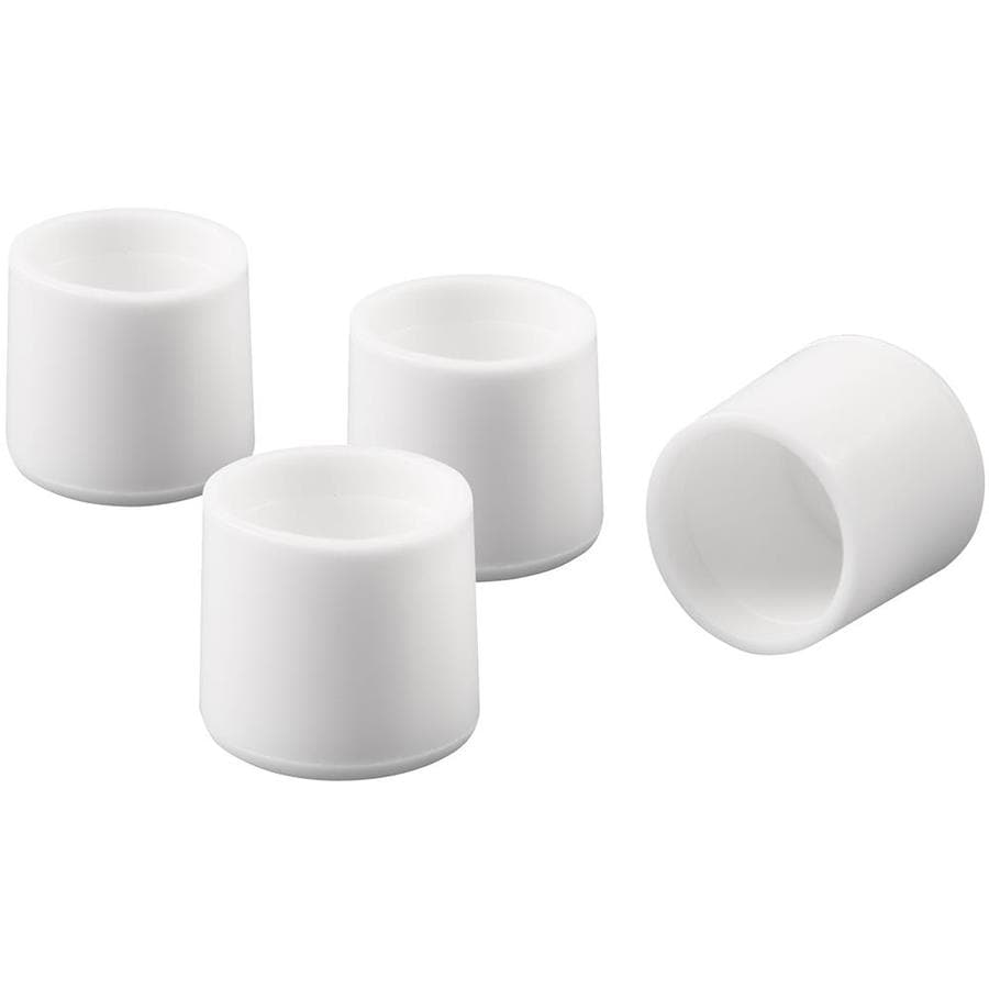 Waxman 1-in White Plastic Tips