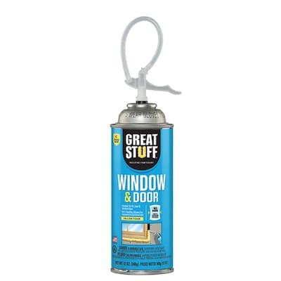 Dow Restartable Straw Window and Door 12-oz Spray Foam