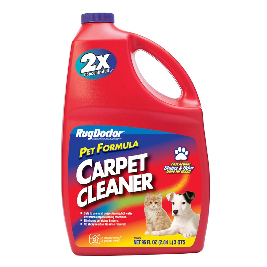 rug doctor 96oz pet stain remover steam cleaner chemicals