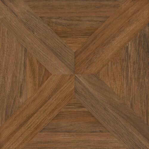 Nitrotile Villanova Brown Unglazed Ceramic Wood Look Floor Tile At