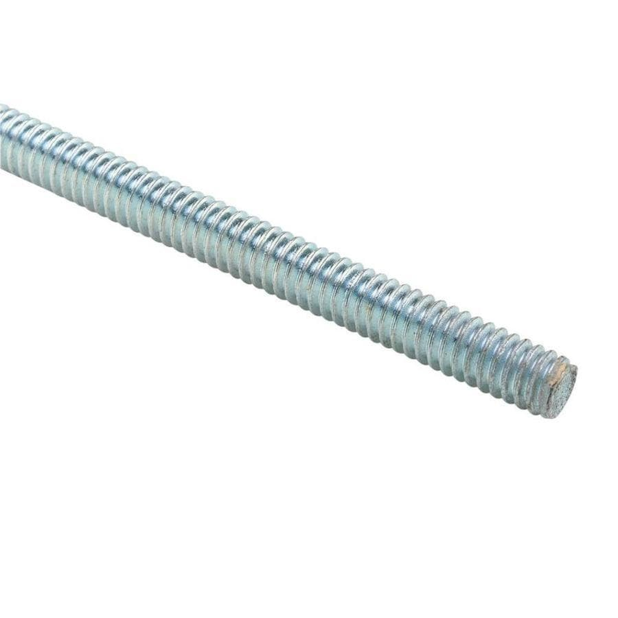STEEL CITY 1/2-in Standard (SAE) Threaded Rod 10 Feet