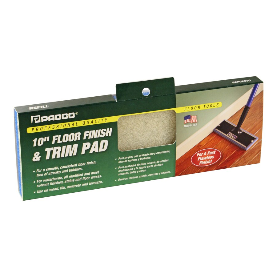 Padco 10-in x 3.5-in Floor Stain Pad Refill