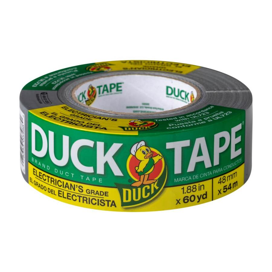 Duck 1.88-in x Silver Duct Tape