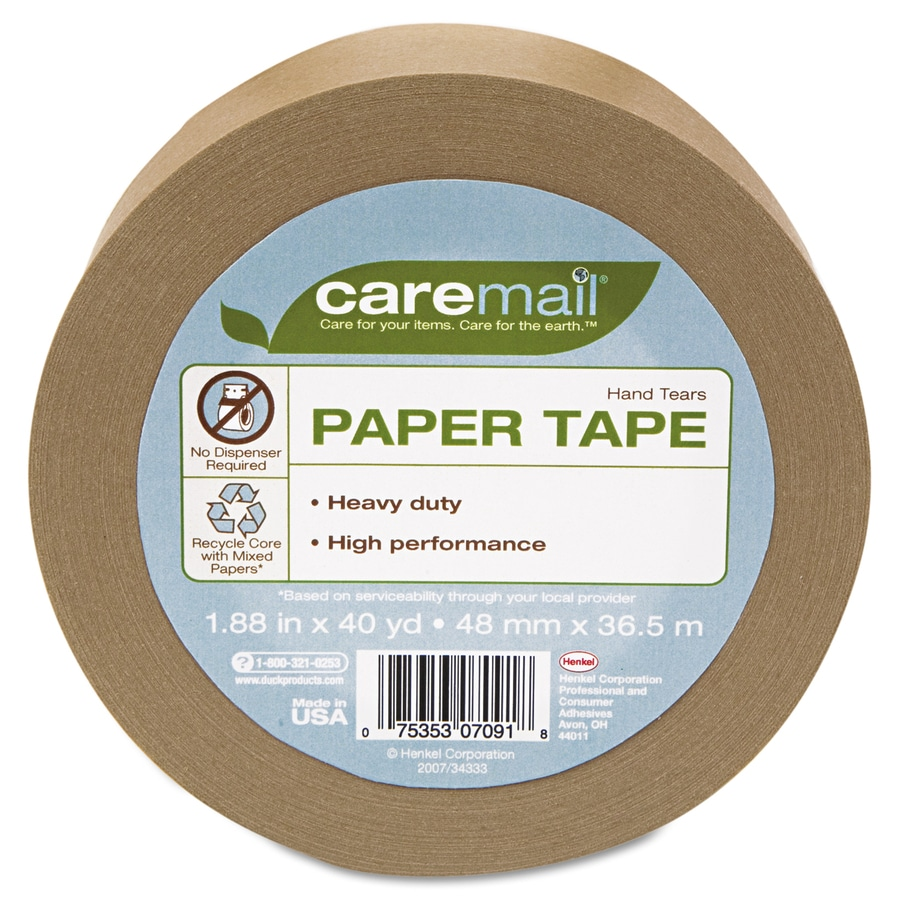 Caremail 1.88-in x 120-ft Packing Tape