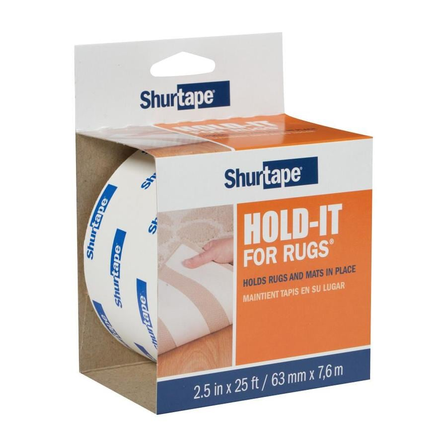 Shurtape 2.5-in x 25-ft White Double-Sided Seam Tape