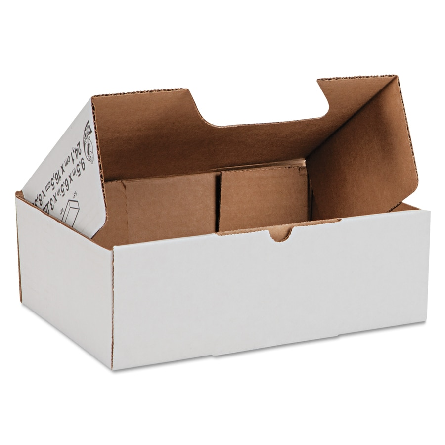 Duck Basic 25-Pack Small Recycled Cardboard Moving Box (Actual 9.5-in x 3.25-in)