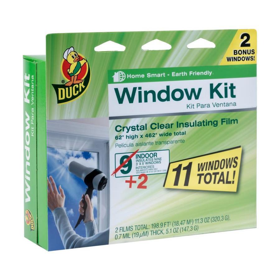 Duck 462-in W x 62-in L Clear Heat-Control Window Film