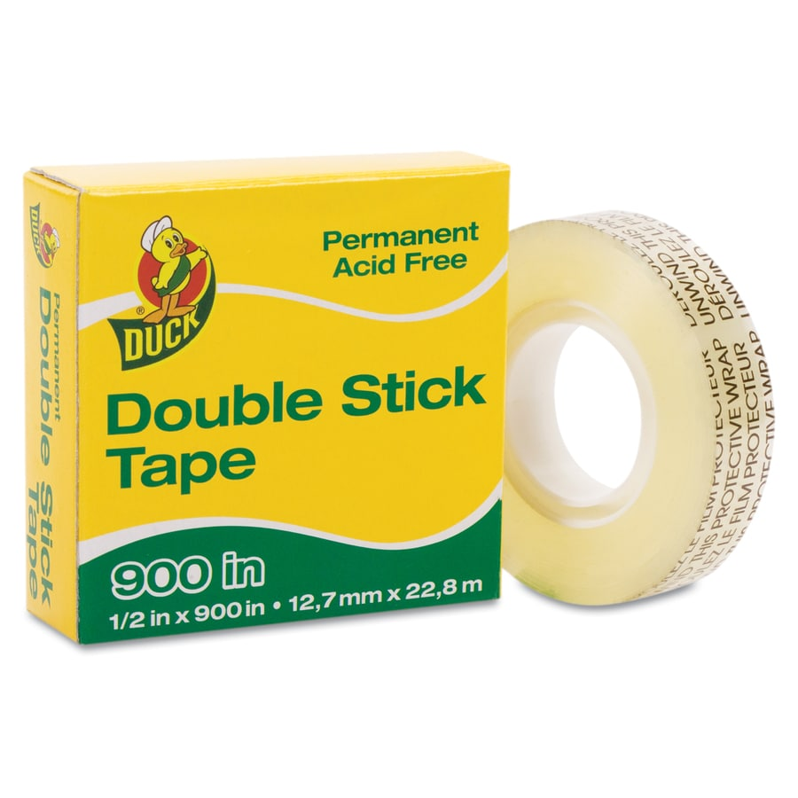 Duck 0.5-in x 75-ft Two-Sided Tape