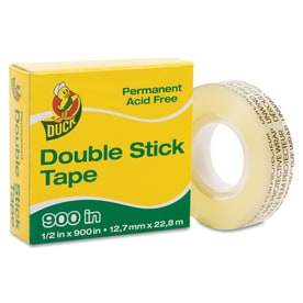 Duck 0.5 In X 75 Ft Two Sided Tape