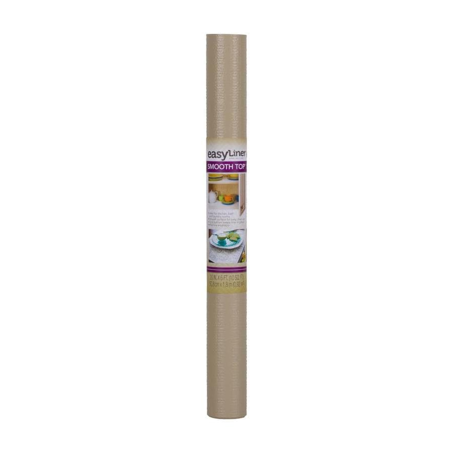 Shop Duck 20 In X 6 Ft Taupe Shelf Liner At Lowes Com