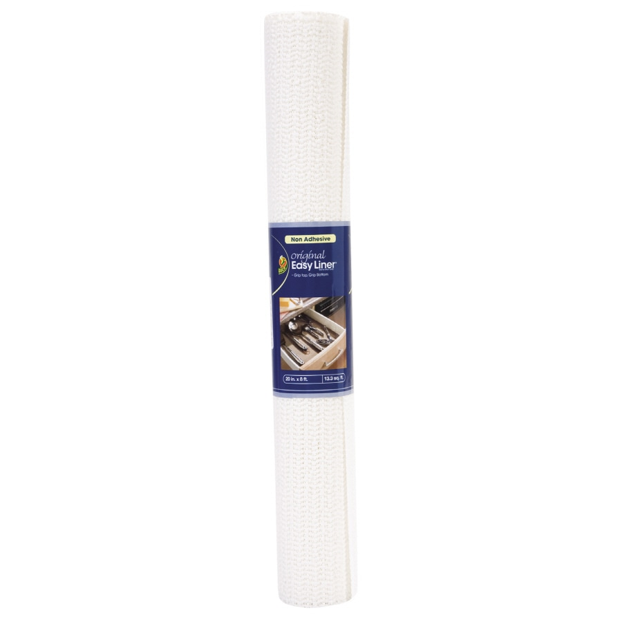 Duck Covers 8-ft x 20-in White Shelf Liner