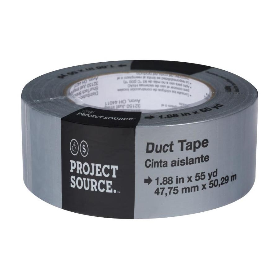 shop project source x 165 ft gray duct tape at. Black Bedroom Furniture Sets. Home Design Ideas