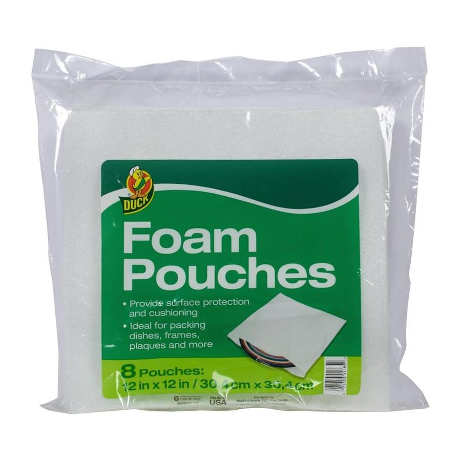 Duck 12-in Foam Pouches