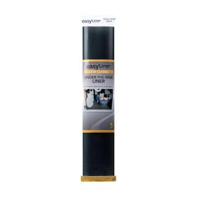 Duck 24 In X 4 Ft Black Shelf Liner At Lowes Com