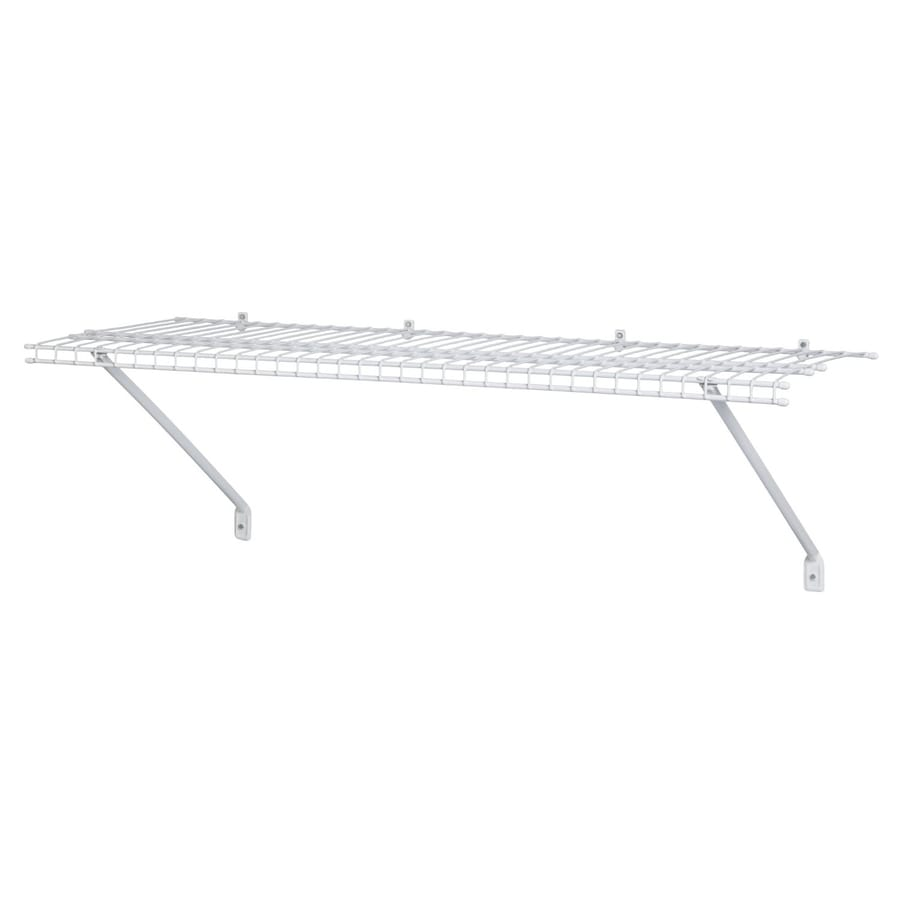 Shop Closetmaid 48 In W X 1 5 In H X 12 In D Wire Wall