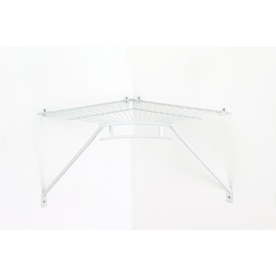 ClosetMaid 18-in W x 3-in H x 18-in D Wire Wall Mounted Shelving