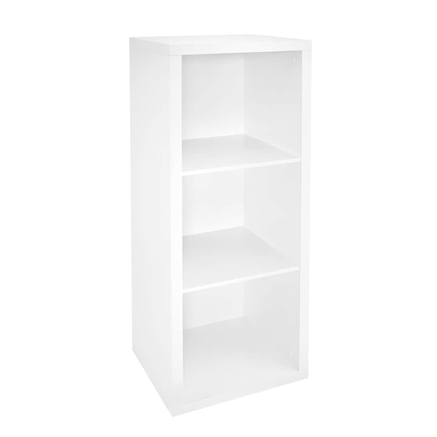 ClosetMaid 3 Compartment White Laminate Storage Cubes