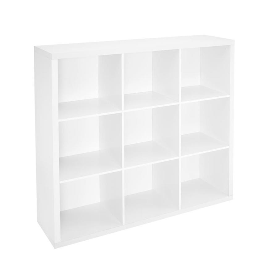 ClosetMaid 9 White Laminate Storage Cubes