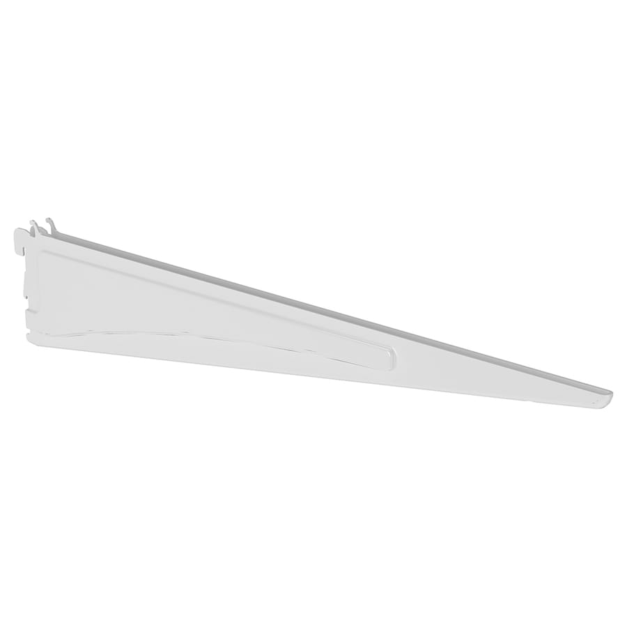 ClosetMaid White Bracket (Common: 0.5-in x 2.75-in x 16.75-in; Actual: 0.5-in x 2.75-in x 16.75-in)