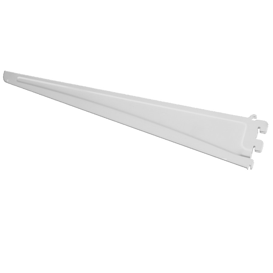 ClosetMaid White Shelving Bracket (Common: 0.5 In X 3.5 In X 21.75