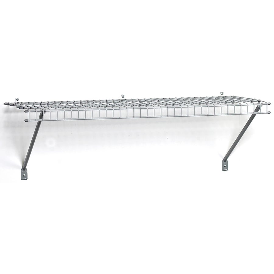 Get Ations Closetmaid6 Ft Adjule Mount Wire Shelving Ki