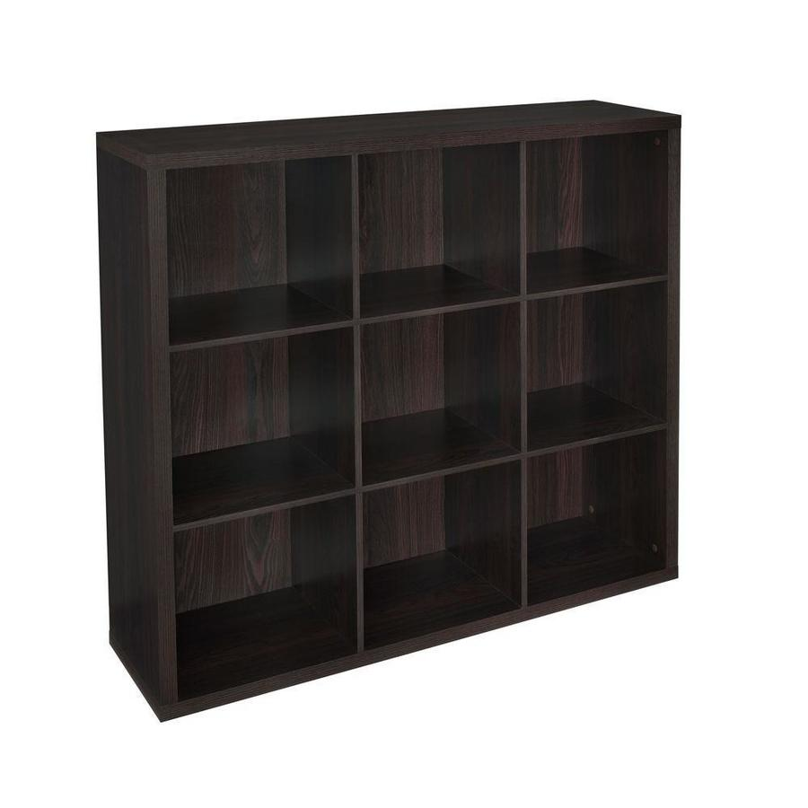 ClosetMaid 9 Black Walnut Laminate Storage Cubes