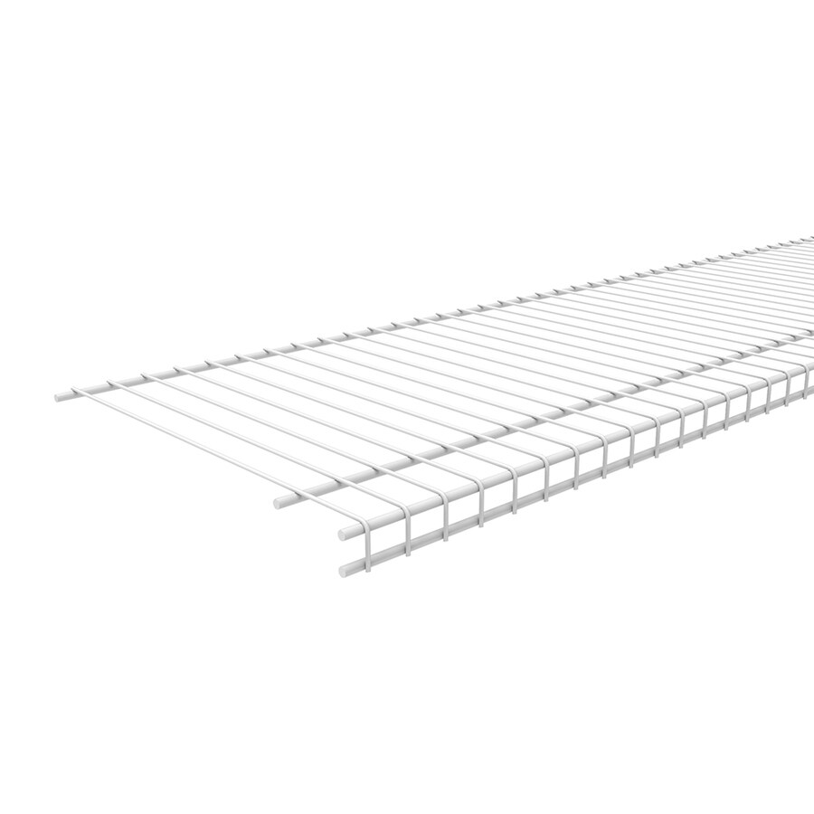 ClosetMaid 12-ft x 12-in White Wire Shelf