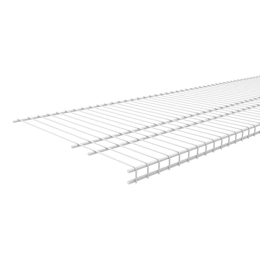 ClosetMaid 4-ft L x 16-in D White Wire Shelf