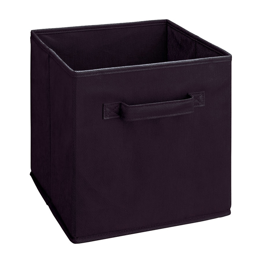 ClosetMaid 10.5-in x 11-in Black Fabric Drawer