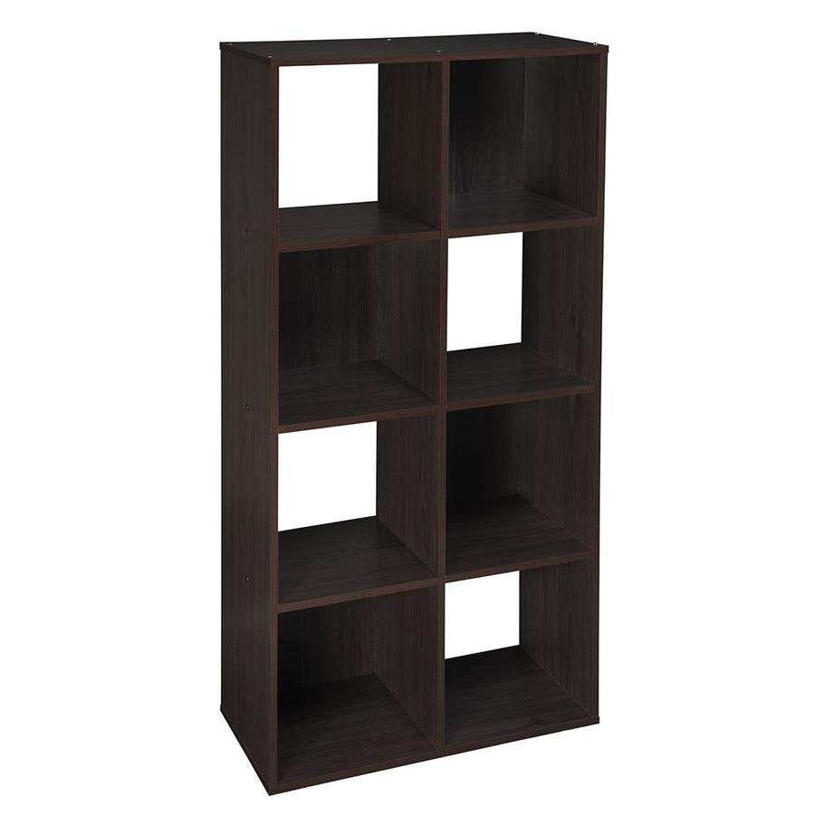 Superb ClosetMaid 8 Espresso Laminate Storage Cubes