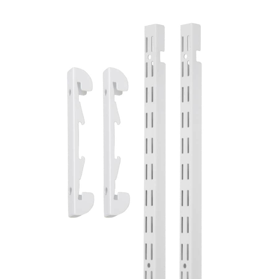 ClosetMaid White Upright (Common: 1-in x 30-in x .625-in; Actual: 1-in x 30-in x .625-in)