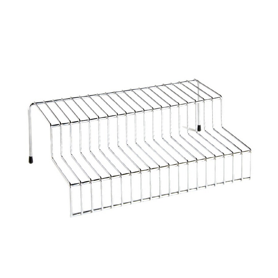 Real Organized 2-Tier Chrome Shelf