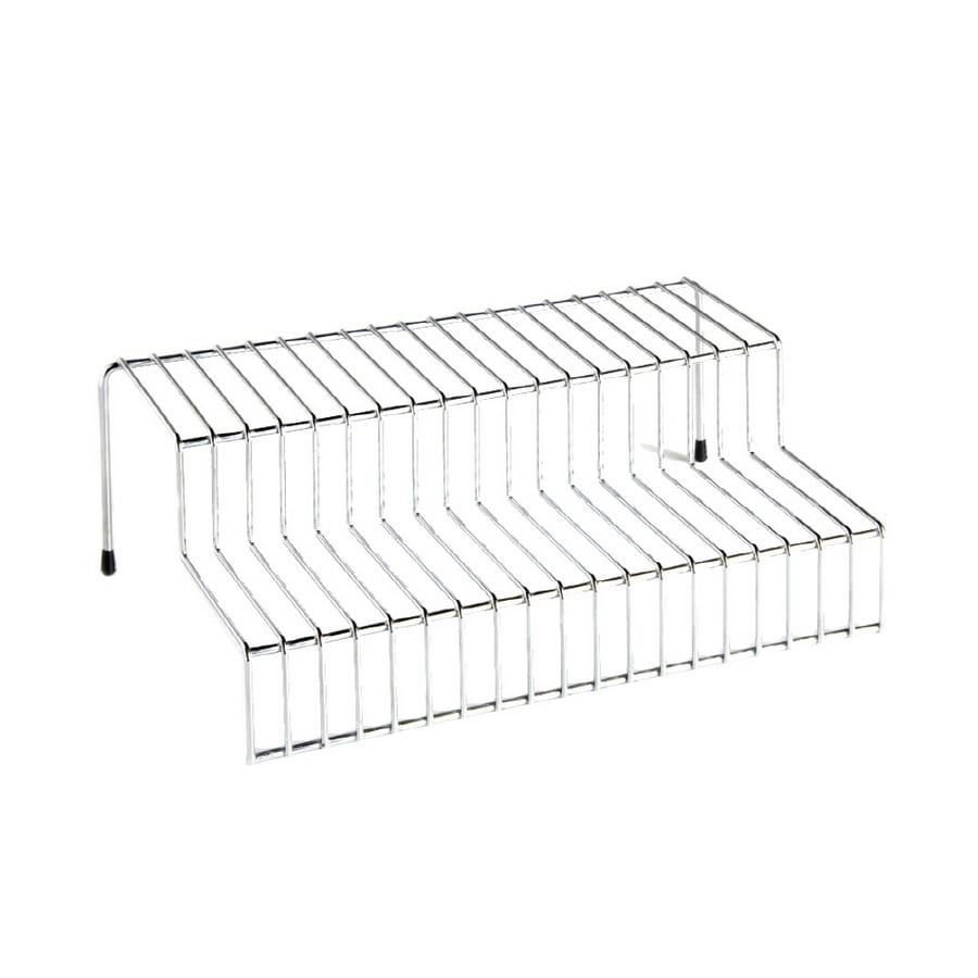 Real Organized 2-Tier Chrome Shelf
