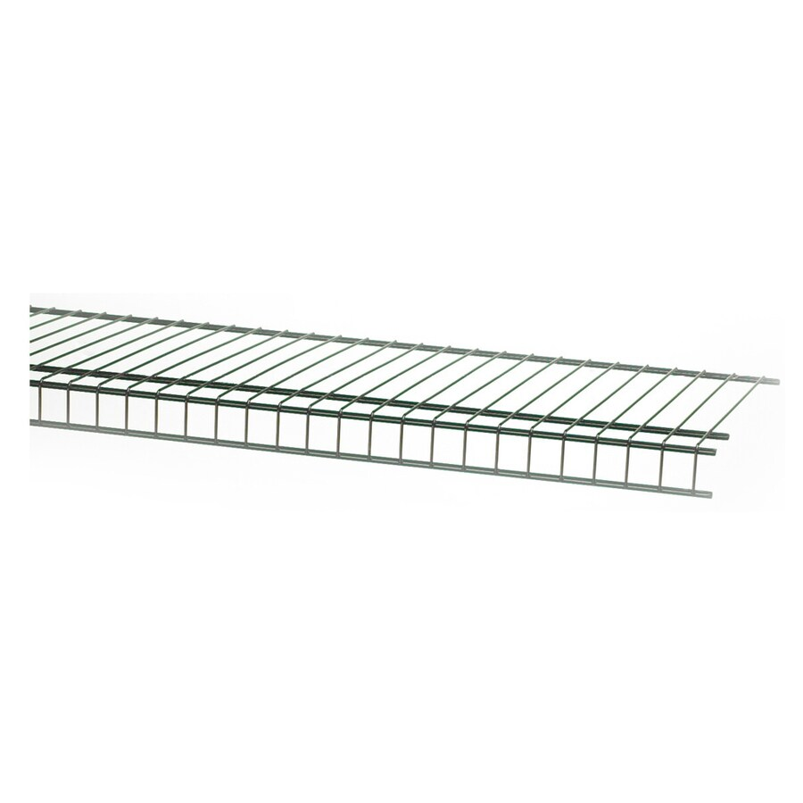 ClosetMaid 6-ft L x 12-in D Satin Chrome Wire Shelf