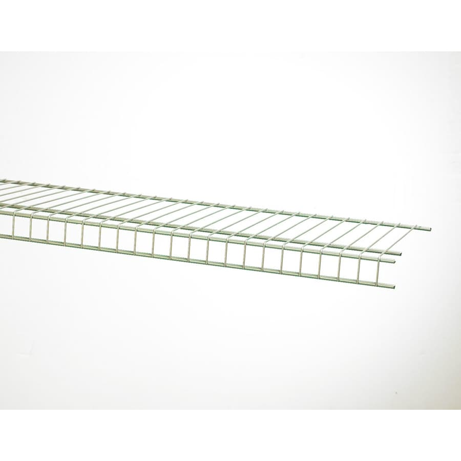 ClosetMaid 6-ft L x 16-in D Satin Chrome Wire Shelf