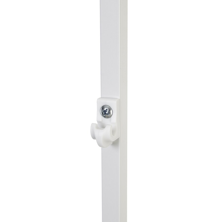 ClosetMaid 1-Pack-in White Pole Shelving Hardware