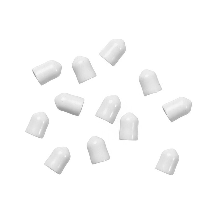 ClosetMaid 12-Pack-in White Rectangle Shelving Hardware